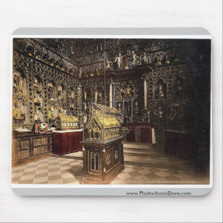 Treasury of St. Ursula, Cologne, the Rhine, German Mouse Pad