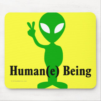 Treat all beings humanely and with respect mouse pad