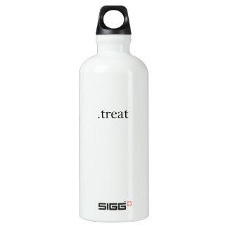 .treat aluminum water bottle