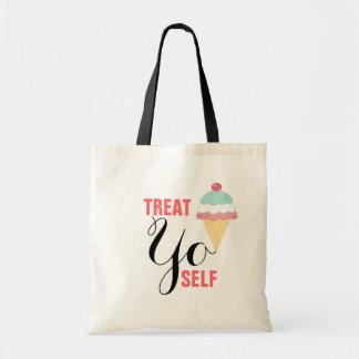 &Treat Budget Tote Canvas Bag