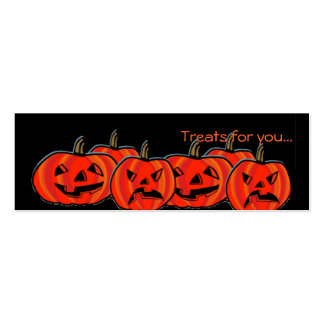 Treat Cards for Halloween goodies