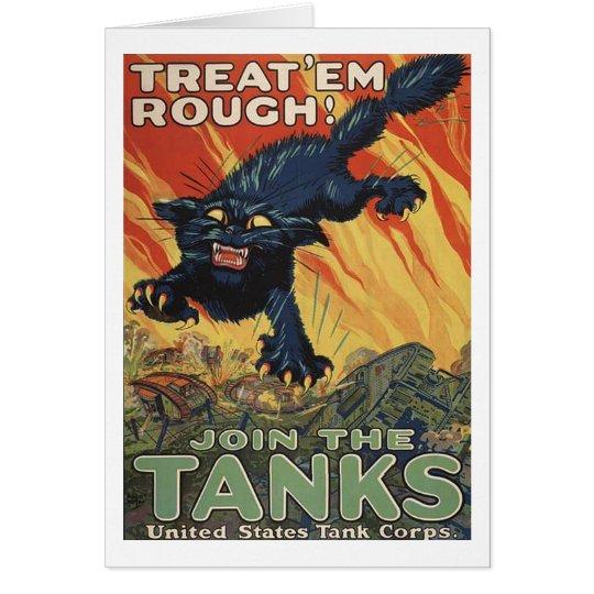 Treat Em Rough-1918 Card