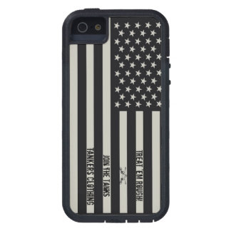 Treat 'em Rough IR Flag iPhone 5 case! Case For iPhone SE/5/5s