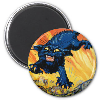 Treat 'em Rough - Join the Tanks 2 Inch Round Magnet