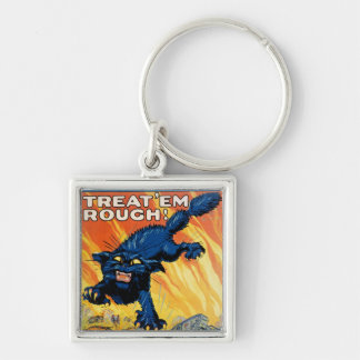 Treat 'em Rough - Join the Tanks Keychain
