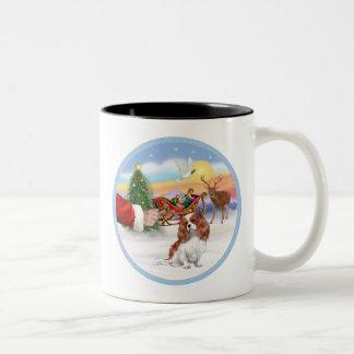 Treat for a Blenheim Cavalier Mugs