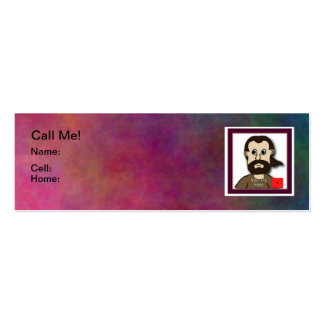 Treat Him To A Cup Of Coffee Card Double-Sided Mini Business Cards (Pack Of 20)