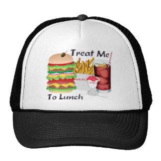Treat Me to Lunch ball cap Trucker Hat