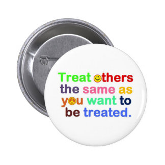 treat others 2 inch round button