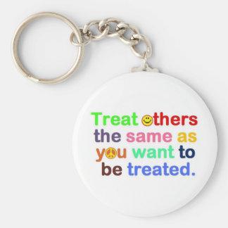 treat others keychain