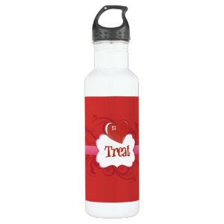 Treat! Stainless Steel Water Bottle