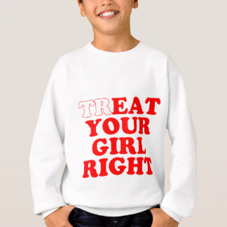 treat sweatshirt