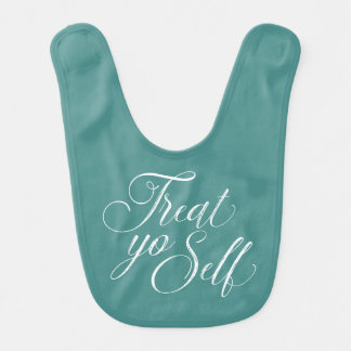 Treat Yo Self Coffee Mug Baby Bib