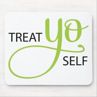 Treat Yo Self Lime Mouse Pad