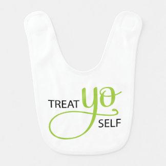 Treat Yo Self Lime Bibs