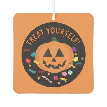 Halloween Themed Treat Yourself! Car Air Freshener