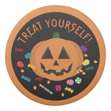 Halloween Themed Treat Yourself! Eraser