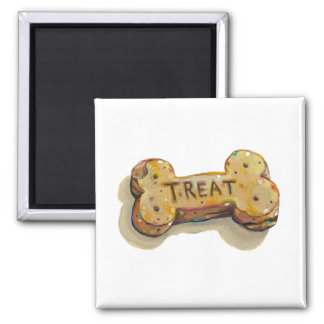 Treat yourself fun art for pet dog lovers trainers refrigerator magnets