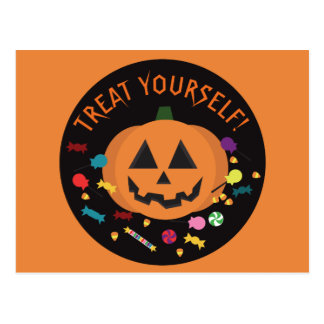 Treat Yourself! Postcard