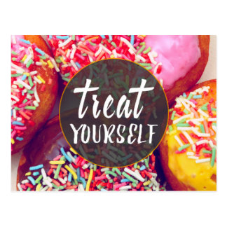Treat Yourself Postcard