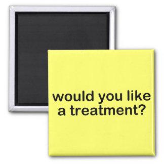 Treatment Fridge Magnet