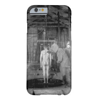 Treatment room for gassed patients at _ War image Barely There iPhone 6 Case