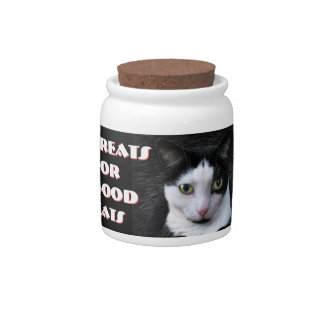 Treats for Good Cats Candy Jar