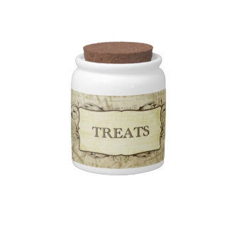 Treats Jar Candy Jar
