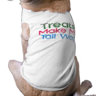 Treats Make My Tail Wag Tee