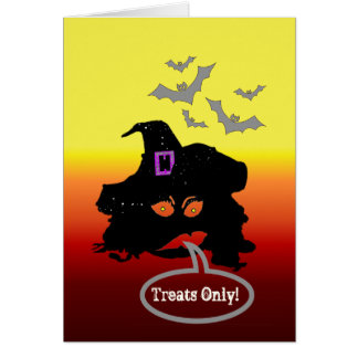 Treats Only! Version 2 Greeting Card