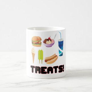 Treats Red Mug