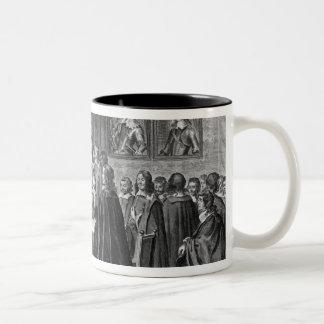Treaty of Breda, 31st July 1667 Two-Tone Coffee Mug