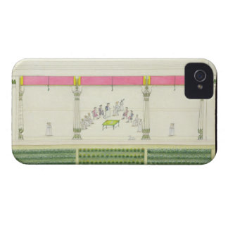 Treaty of the Nawab with the British at Benares in iPhone 4 Cover