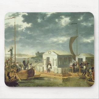 Treaty of Tilsitz, 1807 Mouse Pad