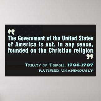 Treaty of Tripoli, 1796-97 Posters