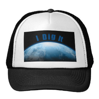 Treaure Hunters Planet Earth Metal Detecting Trucker Hats