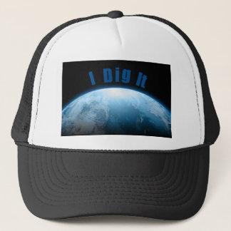 Treaure Hunters Planet Earth Metal Detecting Trucker Hat