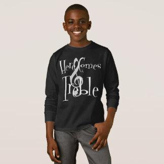 Treble Boy's Dark Long Sleeve T-Shirt