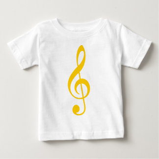 Treble Clef Baby T-Shirt