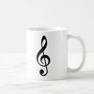 Treble Clef Coffee Mug