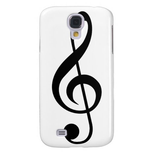 Treble Clef G-Clef Musical Symbol Galaxy S4 Case