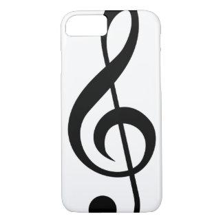 Treble Clef G-Clef Musical Symbol iPhone 8/7 Case