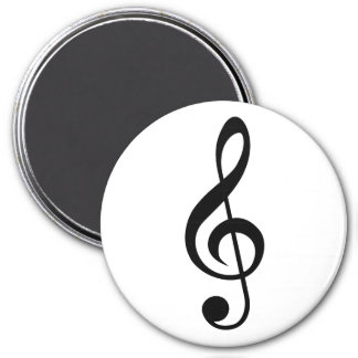 Treble Clef G-Clef Musical Symbol Fridge Magnet