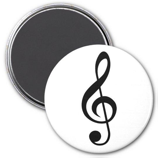 Treble Clef G-Clef Musical Symbol Magnet