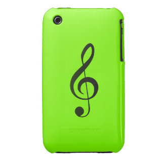 Treble clef iphone case