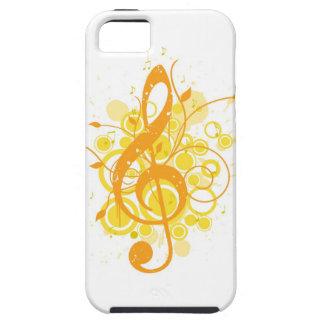 Treble Clef iPhone SE/5/5s Case
