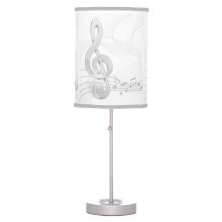 Treble Clef Table & Pendant Lamps   Zazzle
