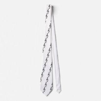 Treble Clef Neck Tie