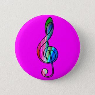 Treble clef note in color_ button