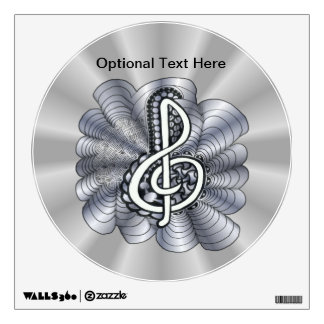 sheet music wall decals wall stickers zazzle